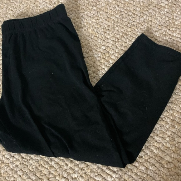 No Boundaries Pants - Black Capris